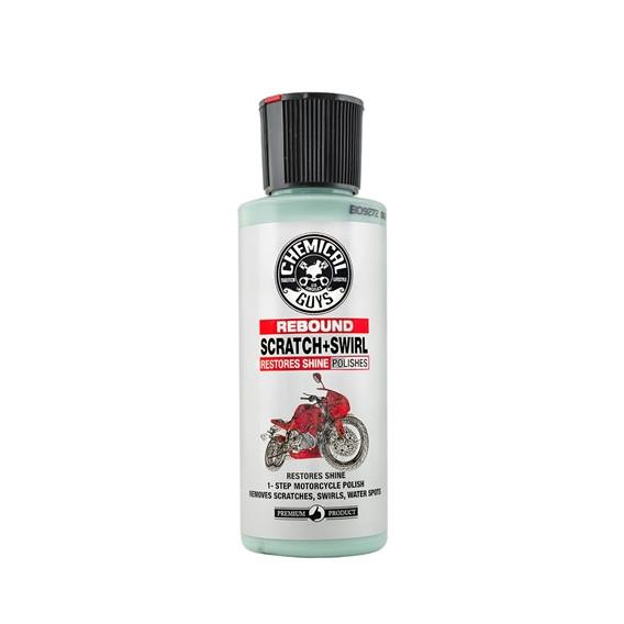 Chemical Guys MTO10404 - Politur Rebound Scratch & Swirl Remover, Moto Line