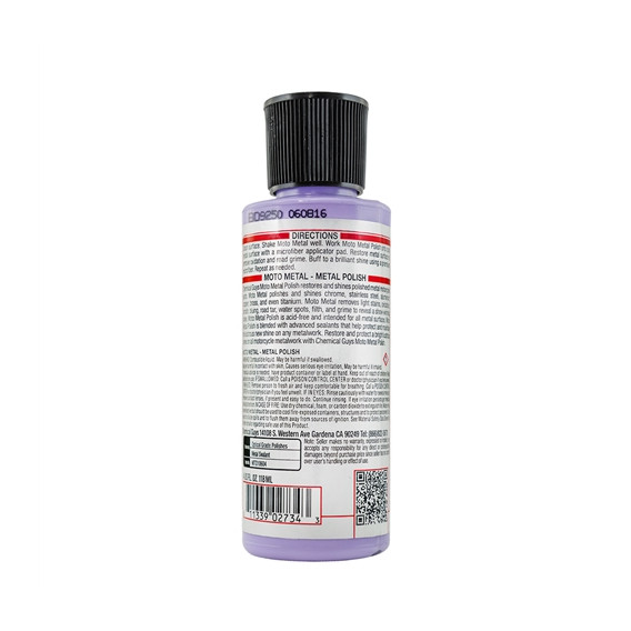 Chemical Guys MTO10604 - Metallpolitur Moto Metal Polish, Moto Line