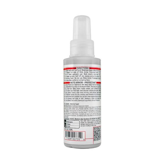Chemical Guys MTO10704 - Kunststoff und Gummipflege Moto Armor 118ml, Moto Line