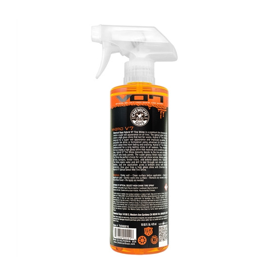 Chemical Guys TVD80816 - Hybrid V7 Optical Select Wet Tire Shine and Trim Dressing and Protectant