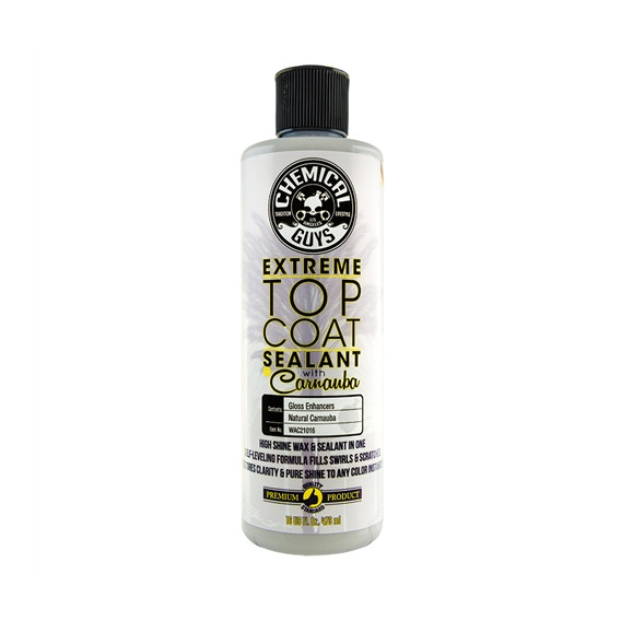 Chemical Guys WAC21016 - Extreme Top Coat Carnauba Wax And Sealant In One