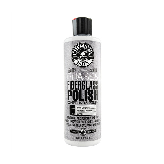 Chemical Guys GAP11416 - Phase 5 Fiberglass Compound and Polish