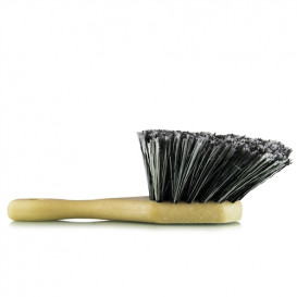 Body & Wheel Flagged Tip Short Handle Brush