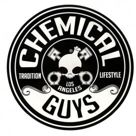 Chemical Guys LAB119 - Chemical Guys Logo Sticker, Rund (20,32cm)