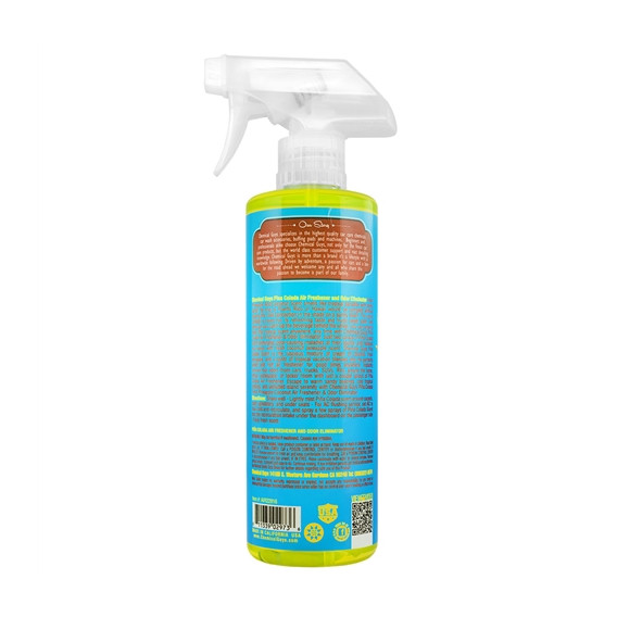 Chemical Guys AIR22916 - Pina Colada Scent Premium Air Freshener & Odor Eliminator (473ml)