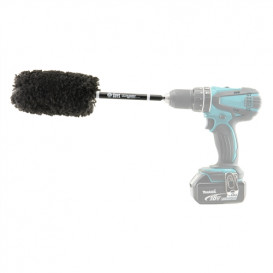 Chemical Guys ACC401 - Power Woolie PW12X Synthetic Microfiber Wheel Brush with Drill Adapter