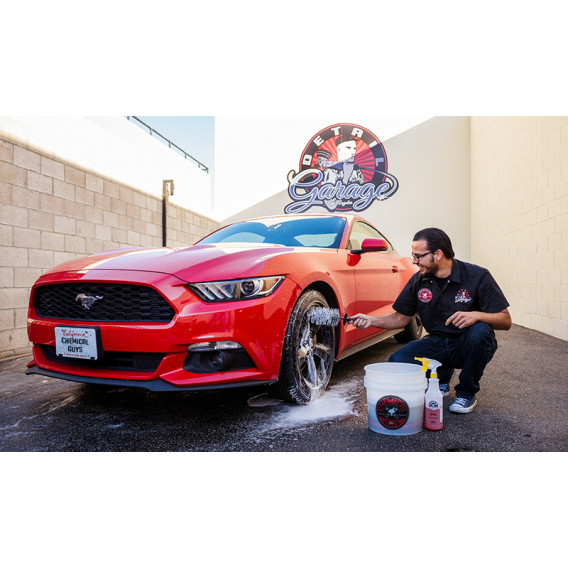 Chemical Guys ACCS37 - Easy Reach Wheel And Rim Detailing Brush
