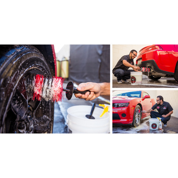 Chemical Guys ACCS38 - Show Car Wheel and Rim Detailing Brush