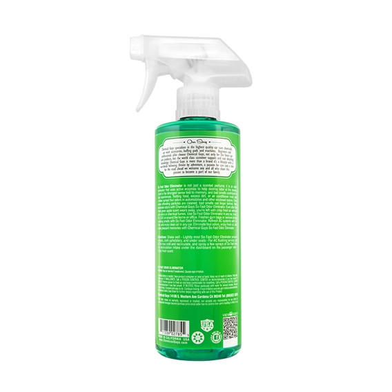 Chemical Guys SPI21816 - So Fast Odor Eliminator & Air Freshener, Green Apple Scent