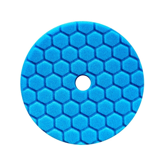 Chemical Guys BUFX115HEX5 - Hex-Logic Quantum Polishing/Finishing Pad, Blue (5.5 Inch)
