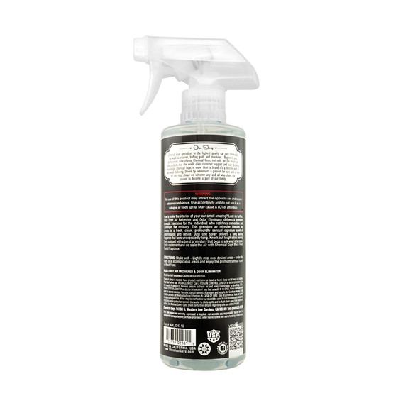 Chemical Guys AIR_224_16 - Black Frost Air Freshener & Odor Eliminator