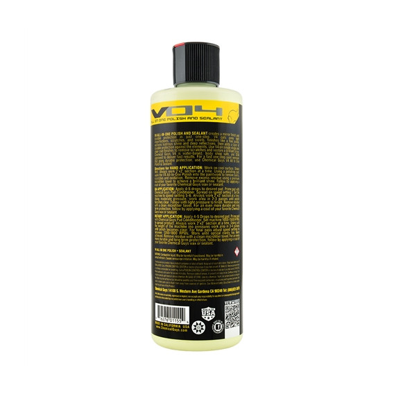 Chemical Guys GAP_106_16 - V4 All In One Polish + Shine + Sealant