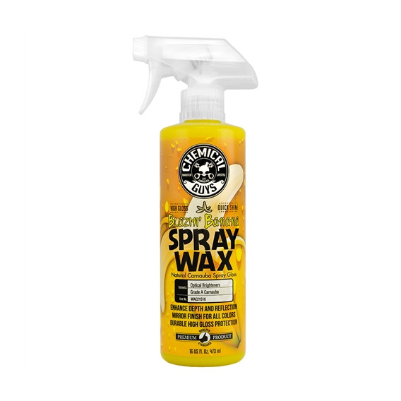 Chemical Guys WAC21516 - Blazin' Banana Spray Wax Natural Carnauba Spray Gloss