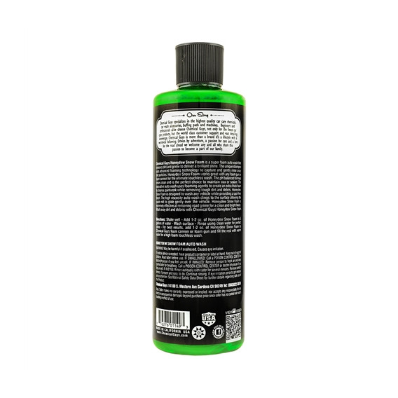 Chemical Guys CWS_110_16 - Honeydew Snow Foam Auto Wash Cleanser