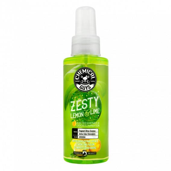Chemical Guys AIR23204 - Zesty Lemon & Lime Premium Air Freshener & Odor Eliminator - DeepGlosz | Autopflege