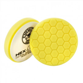 Chemical Guys BUFX_101HEX5 - Hex-Logic Heavy Cutting Pad, Yellow (5.5 Inch)