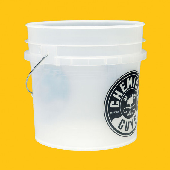 Chemical Guys ACC104 - Heavy Duty Detailing Transparenter Wascheimer