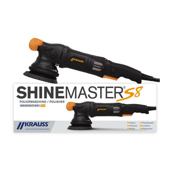 Krauss Tools - SHINEMASTER S8 V2 Exzenter Polierer