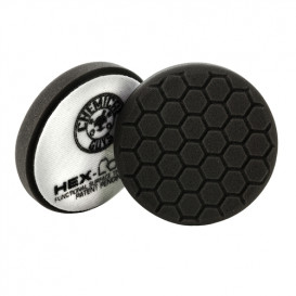 Chemical Guys BUFX_106HEX4 - Hex-Logic Finishing Pad, Black (4 Inch)