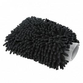 Mehr über Chenille Microfiber Premium Scratch-Free Wash Mitt schwarz