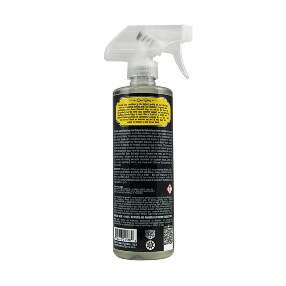 Chemical Guys SPI_191_16 - Lightning Fast Carpet & Upholstery Stain Extractor