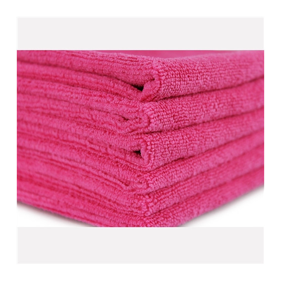 "Chemical Guys MIC10101 - Ultra Fine Microfiber Towel, Pink 15"" x 15"""
