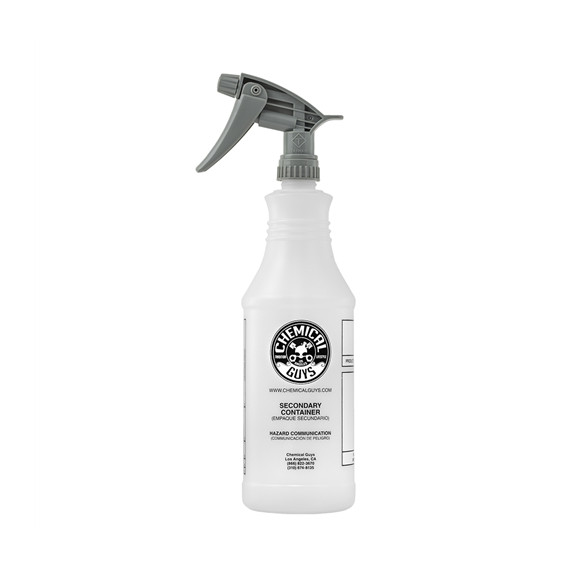 Chemical Guys ACC_130 - Professional Chemical Guys Chemical Resistant Heavy Duty Bottle & Sprayer 946ML