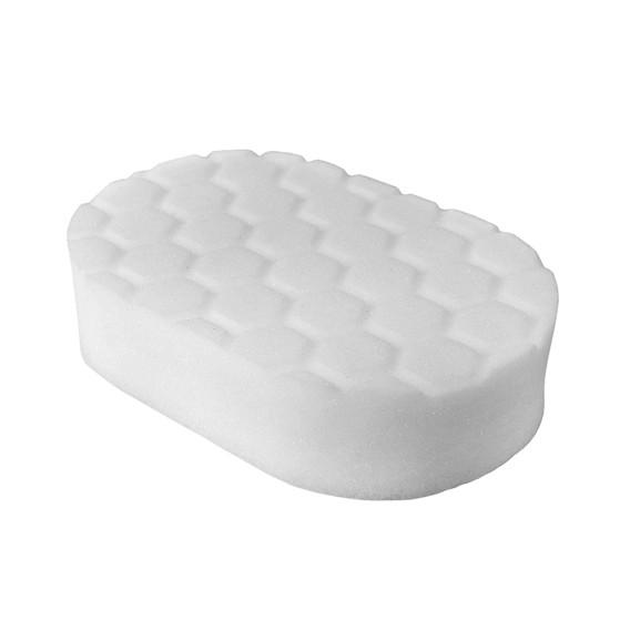 Chemical Guys BUFX_202 - Hex-Logic Polishing Hand Applicator Pad, White