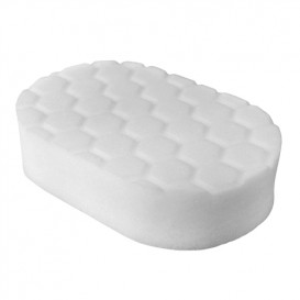 Chemical Guys BUFX_202 - Hex-Logic Polishing Hand Applicator Pad, White