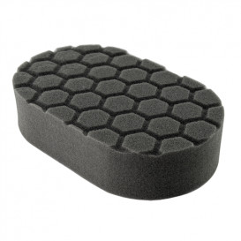 Hex-Logic Finishing Hand Applicator Pad, Schwarz