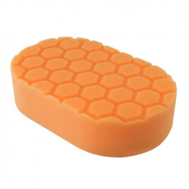 Hex-Logic Medium Cutting Hand Applicator Pad, Orange