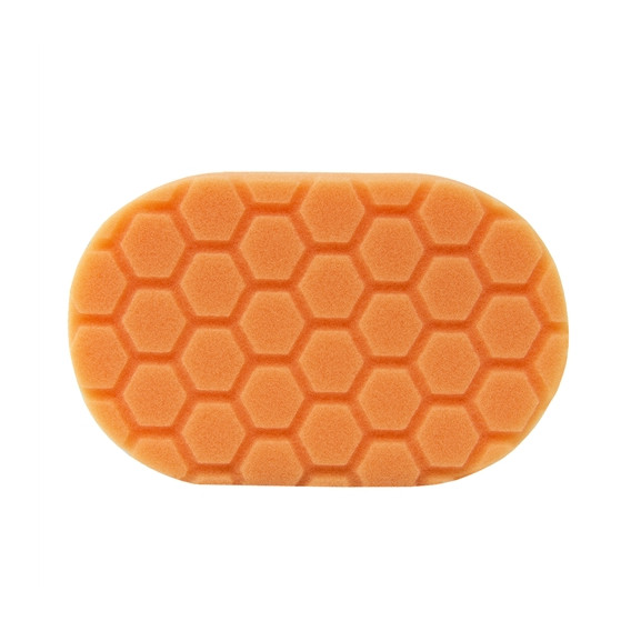 Chemical Guys BUFX_201 - Hex-Logic Medium Cutting Hand Applicator Pad, Orange