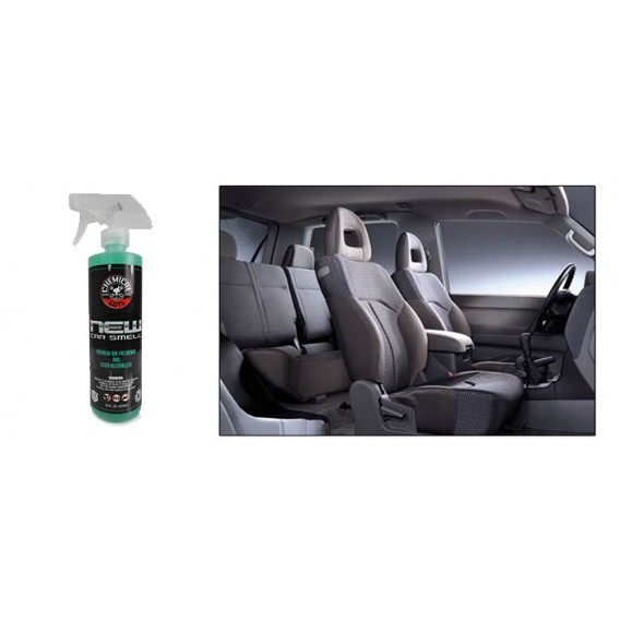 Chemical Guys AIR_101_16 - New Car Smell Premium Air Freshener & Odor Eliminator