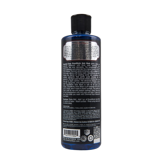 Chemical Guys CWS_133_16 - Glossworkz Gloss Booster and Paintwork Cleanser