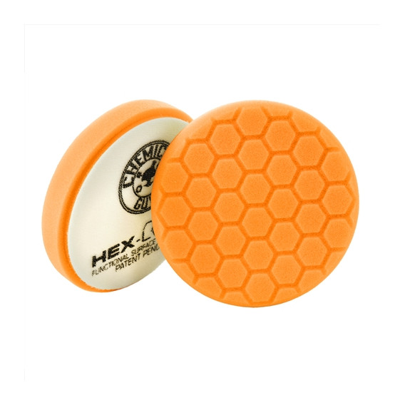 Chemical Guys BUFX_102HEX6 - Hex-Logic Medium-Heavy Cutting Pad, Orange (6.5 Inch)