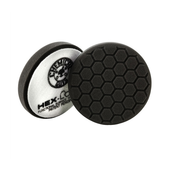 Chemical Guys BUFX_106HEX6 - Hex-Logic Finishing Pad, Black (6.5 Inch)