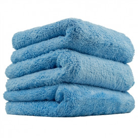 Happy Ending Edgeless Microfiber Towel, Blau 40x40cm