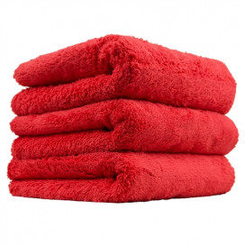 Happy Ending Edgeless Microfiber Towel, Rot 40x40cm