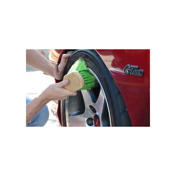 Chemical Guys ACC_G08 - Wheel & Tire Brush, Short Handle