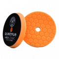 "5,5"" Hex-Logic Quantum Medium-Heavy Cutting Pad, Orange"
