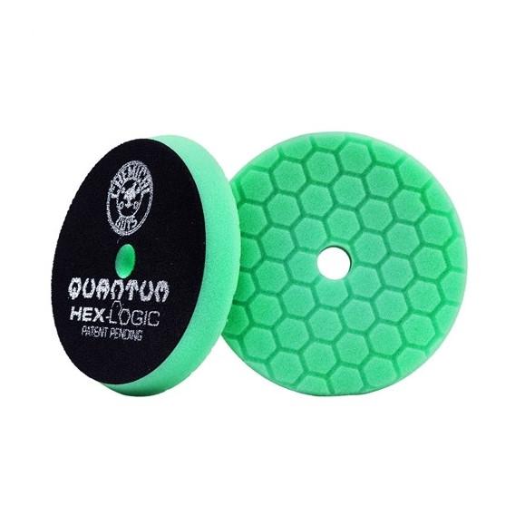 Chemical Guys BUFX113HEX5 - Hex-Logic Quantum Heavy Polishing Pad, Green (5.5 Inch)