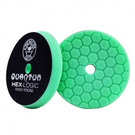 Chemical Guys BUFX113HEX5 - Hex-Logic Quantum Heavy Polishing Pad, Green (5.5 Inch)