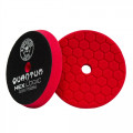 "5,5"" Hex-Logic Quantum Ultra Light Finishing Pad, Rot"