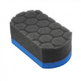 Chemical Guys ACC221 - Easy Grip Ultra Soft Hex-Logic Applicator Pad, Blue