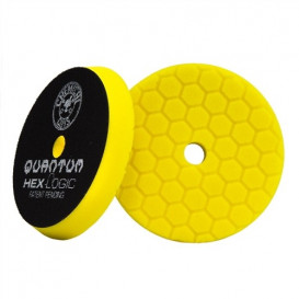 "6,5"" Hex-Logic Quantum Heavy Cutting Pad, Gelb"