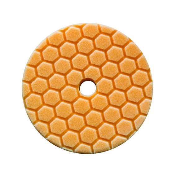 Chemical Guys BUFX112HEX5 - Hex-Logic Quantum Medium-Heavy Cutting Pad, Orange (5.5 Inch)