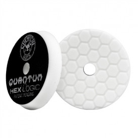 "6,5"" Hex-Logic Quantum Light-Medium Polishing Pad, Weiß"