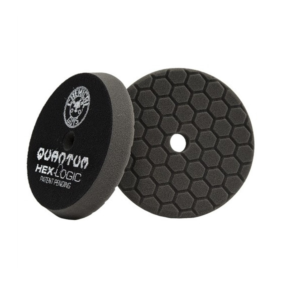 Chemical Guys BUFX116HEX5 - Hex-Logic Quantum Finishing Pad, Black (5.5 Inch)