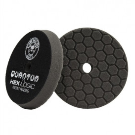 "6,5"" Hex-Logic Quantum Finishing Pad, Schwarz"