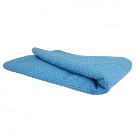 "Chemical Guys MIC_701_01 - Glass and Window Waffle Weave Towel, Blue 27"" x 16"""